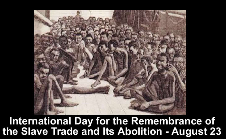 UN pays tribute to heroes of abolition of Slave trade