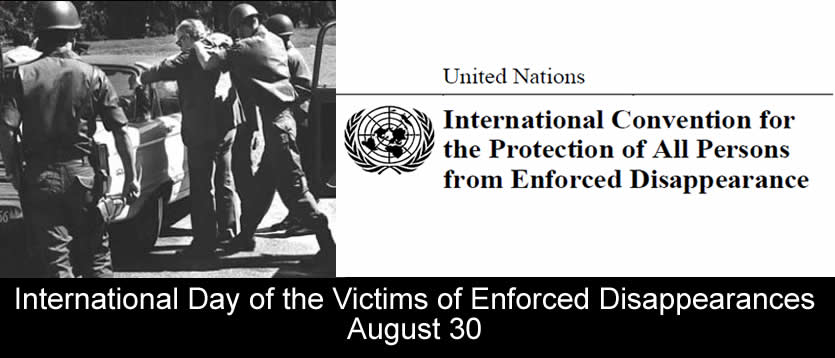 Victims of Enforced Disappearances