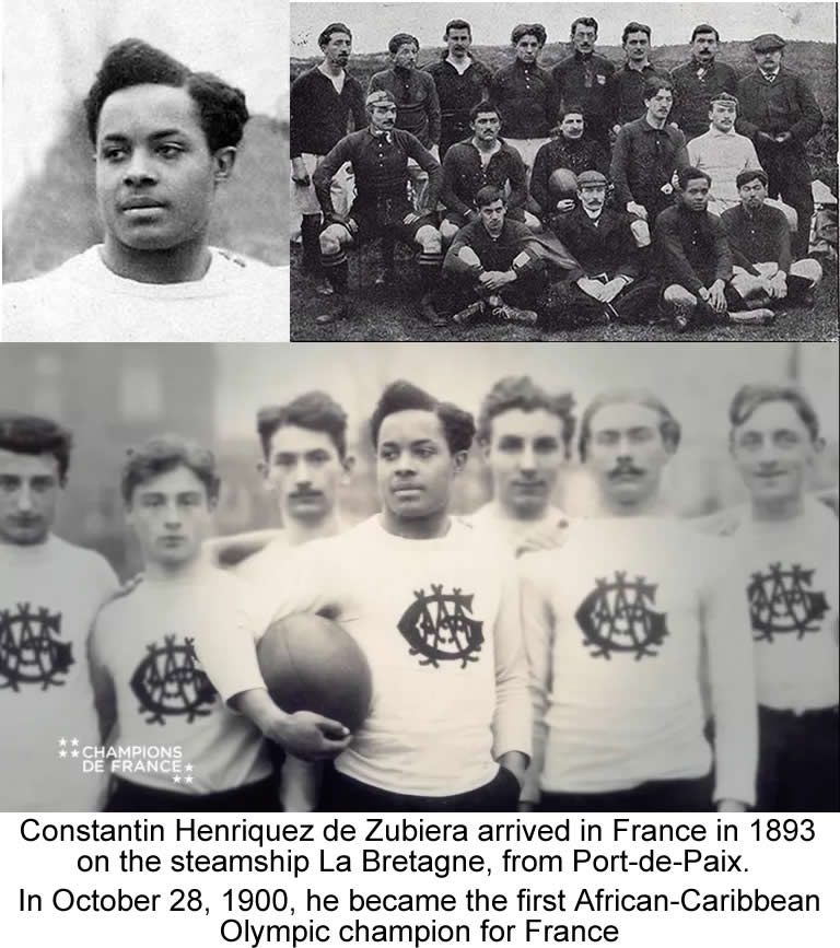 Constantin Henriquez, First Haitian Olympic champion in 1900