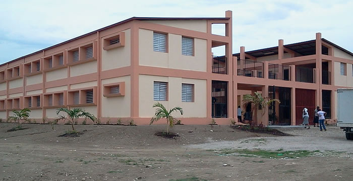 Institute Monfort school for the deaf and blind in Haiti