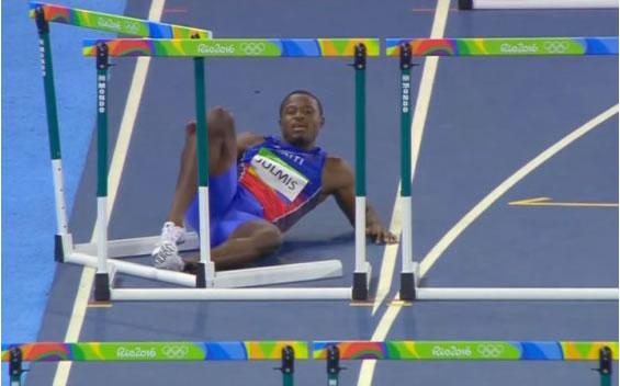 Haitian runner Jeffrey Julmis in Rio