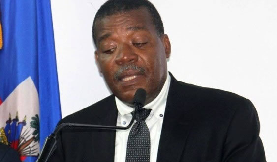 Haiti Minister of the Economy and finance, Yves Romain Bastien