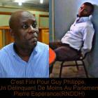 un délinquant de moins au parlement, Pierre Espérance