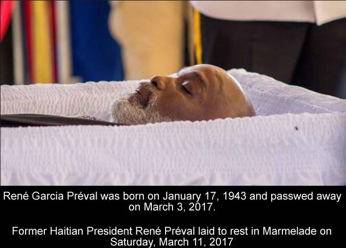 Rene Preval Death