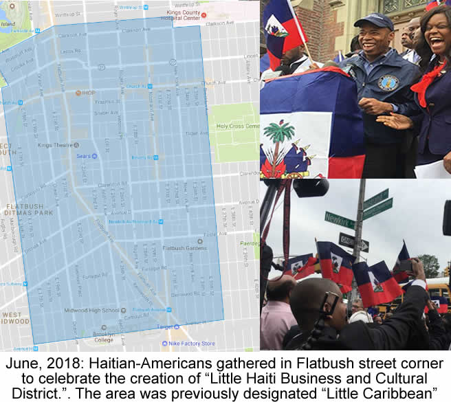 Little Haiti Business and Cultural District, Flatbush New York