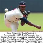 Meet Haitian-American professional baseball pitcher Touki Toussaint