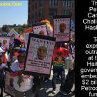 The Petro Caribe Challenge hashtag