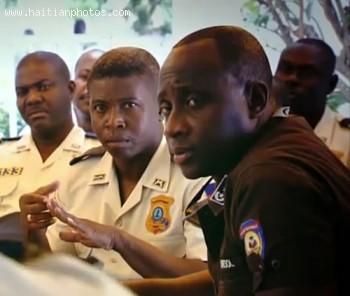 Haiti Police Chief Mario Andre Sol