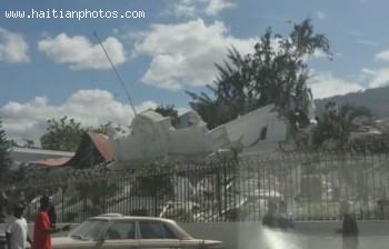 Palais De Justice Destroyed By Haiti Earthquake