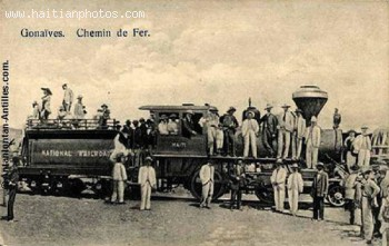 Transportation - Gonaive Chemin De Fer Or Railroad