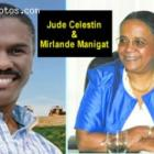 Haiti Election 2010, Mirlande Maingat And Jude Celestin