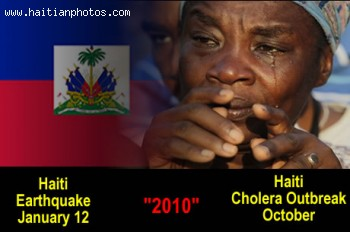 Sign Of Health Care Problem In Haiti