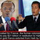 Jean-Bertrand Aristide - Aristide Called For France To Pay 21billionin Restitution To Haiti