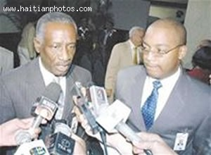 Jean-Bertrand Aristide - Chief Of The Army Herard Abraham