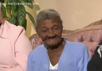 Haitian Woman, Cecilia Laurent, Oldest Woman In The World At 115 Years