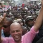 Michel Martelly In Cap-Haitian