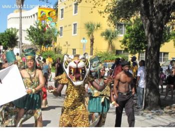 Carnival In Haiti - Haitian Masks