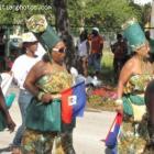 Haitian Contengent In Carnival In Haiti