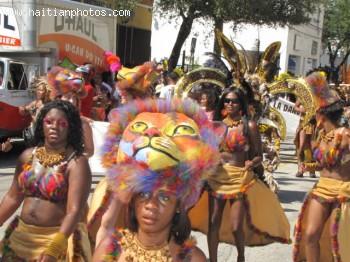 Haitian Carnival In Haiti