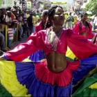 Carnival In Haiti Display Of Color