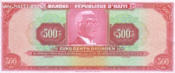 Haitian Currency Francois Duvalier