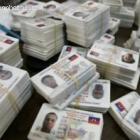 Identification Card In Haiti Election 2010