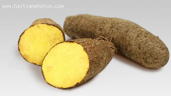 Food - Haitian Yellow Yam