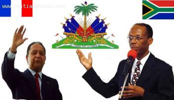 Jean-Bertrand Aristide And Jean-Claude Duvalier