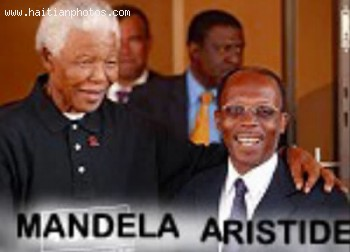 Jean-Bertrand Aristide And Nelson Mandela