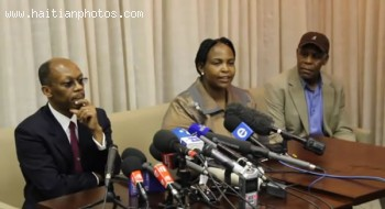 Maite Nkoana-Mashabane Of South Africa, Jean-Bertrand Aristide And Y Glover