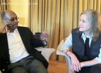 Jean-Bertrand Aristide, Last Day In South Africa