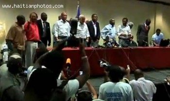 Twelve Candidates In Haiti Election Demand Election Cancellation