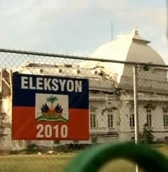 Haiti Election 2010, Sign