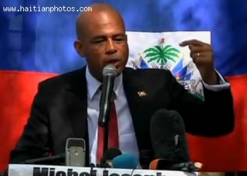 Michel Martelly Changing Position - Haiti Election 2010