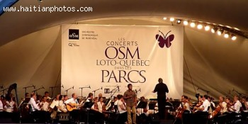 Luck Mervil With Montreal Symphony Orchestra