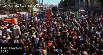 Protest In Haiti Election 2010 Due To Fraud