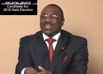 Wilson Jeudy Candidate - Haiti Election 2010