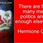 Haitian politic - too many people in Haiti in Politic