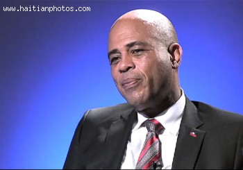 Michel Martelly As The New President Elect Of Hait