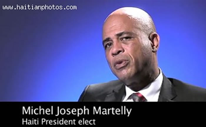 Haitian President Elect Michel Martelly Interview With The Press Miami Herald