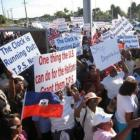 Haitian Protest Against