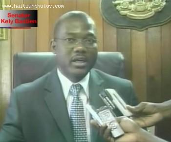 Senator Kely Bastien, President Of Haiti Senat