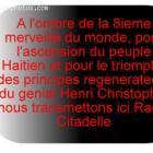 Phrase made celebre Cap-Haitian