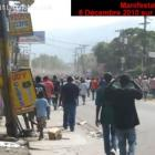 Violence Following Results Haiti