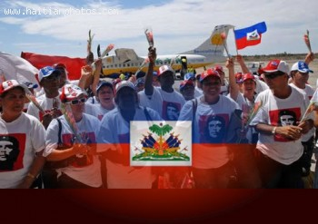 Rene Preval awards Cuban Medical Brigade for services in Haiti
