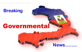 News from the government of Haiti