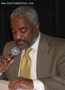 Haiti's minister of Haitians living abroad, Edwin Paraison