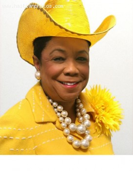 Congresswoman Frederica Wilson Visited Haiti
